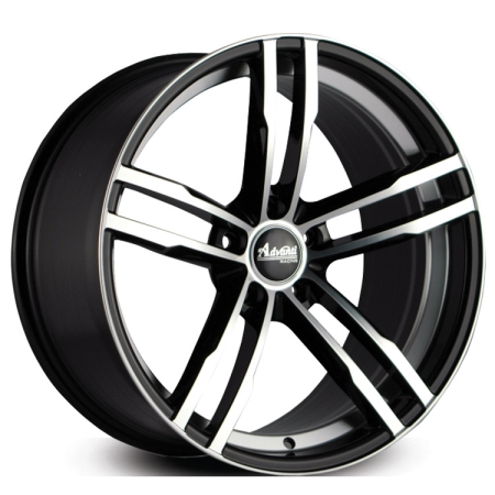 18X8 ADVANTI 5X120 45 GENEVA GLOSS BLACK