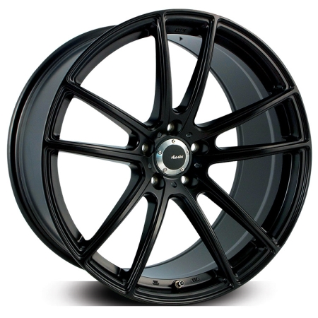 20X10 ADVANTI 5X120 50 N931 SATIN BLACK