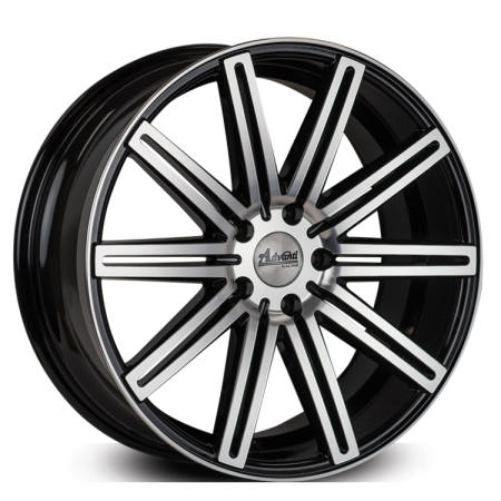 20X8.5 ADVANTI 5X120 15 KLEVER GLOSS BLACK