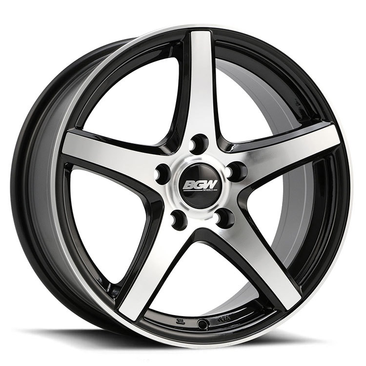 17X7.5 BGW 4X100/114.3 35 BGW APEX GLOSS BLACK W MF