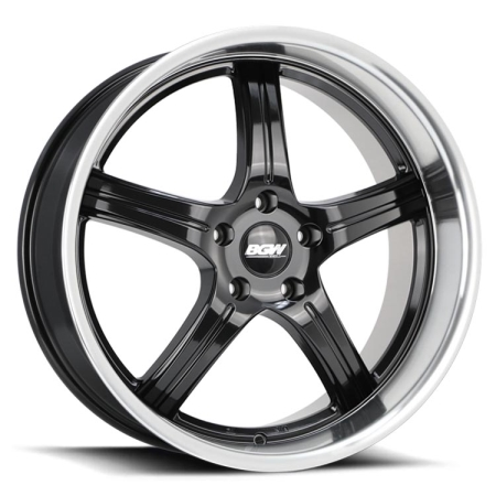 19X8.5 BGW 5X114.3 35 RAMPAGE GLOSS BLACK W ML