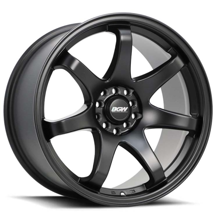 18X9.5 BGW 5X100/114.3 35 MAYHEM MATT BLACK