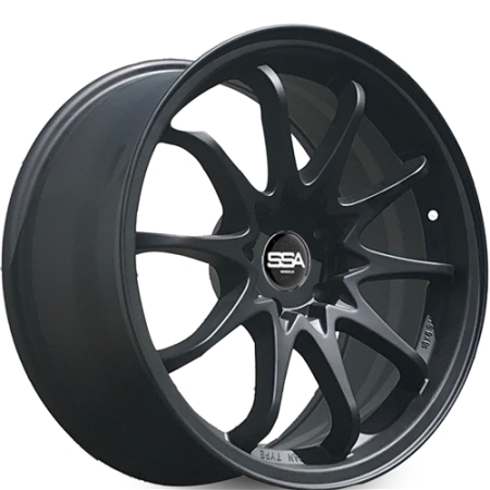 18X8.5 SSA 5X114.3 22 DRIFT MATTE BLACK