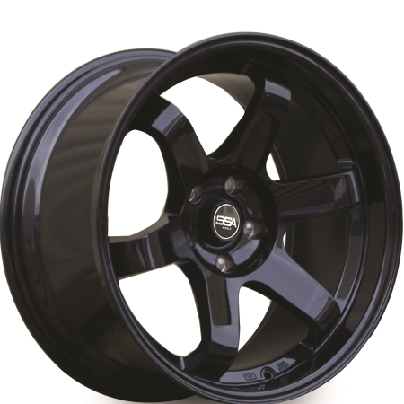 18X8.5 SSA 5X114.3 35 73.1 ASSASSIN MATTE BLACK