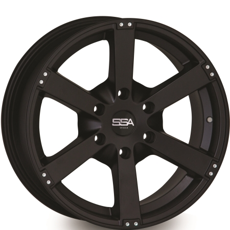 18X8.5 SSA 6X139.7 32 110 CARRIER MATTE BLACK