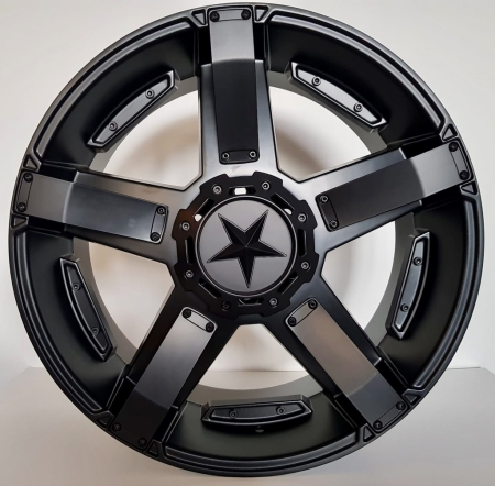 20X9 ST003 6X114.3/139.7 20 106.1 MATT BLACK
