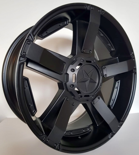 20X9 ST003 6X139.7 20 106.1 MATT BLACK
