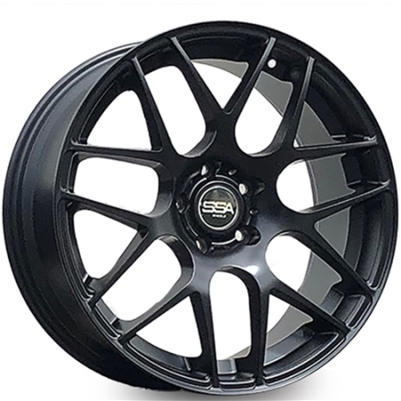 19X8.5 SSA 5X114.3 40 73.1 MIAMI BLACK