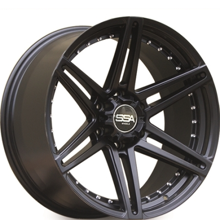20X9.5 SSA 6X139.7 20 106.1 SHOCK BLACK