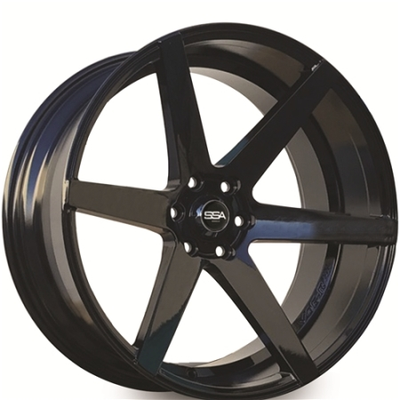20X9 SSA 6X114.3 10 66.1 WARRIOR BLACK