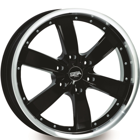 20X8.5 SSA 6X139.7 35 110 ABSOLUTE BLACK MACHINE LIP