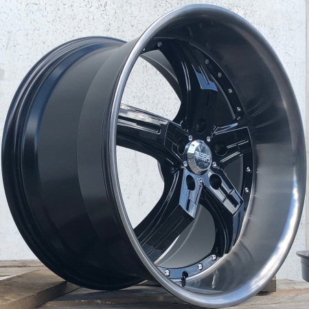 20X10 SSA 5X120 45 72.6 SHADOW GLOSS BLACK/TINTED