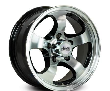 13X5 ADVANTI 5X114.3 0 ATLAS GLOSS BLACK