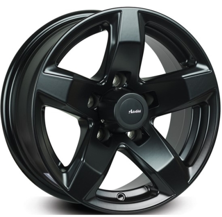 13X5 ADVANTI 5X114.3 VULCAN MATT BLACK