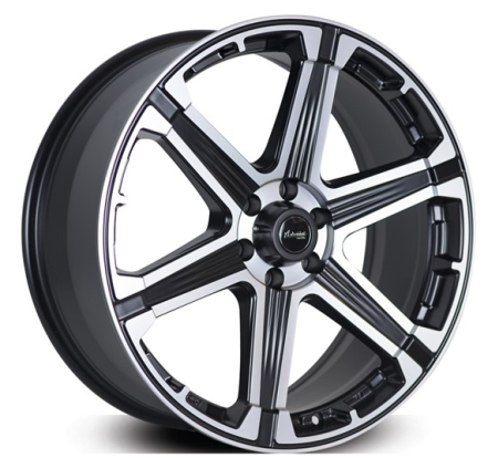 20X8.5 ADVANTI 6X139.7 MONSOON MATT BLACK