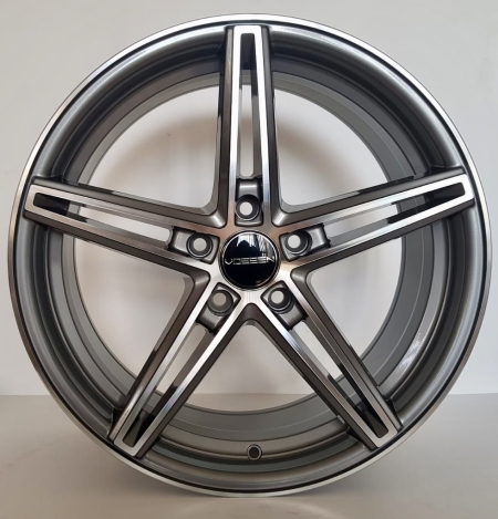 18X8.0 GUNMETAL MACHINE FACE PCD 5X114.3 ET 40 CB 73.1